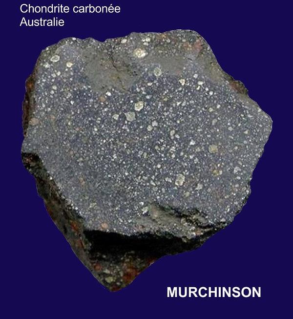 Murchinson, chondrite carbonnée