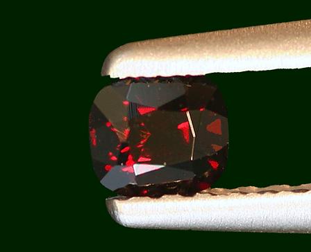 Painite gemme taillée