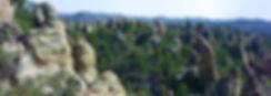 Panorama a Chriricahua.