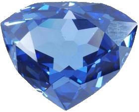 """Copie du """"Diamant bleu de France""""."""