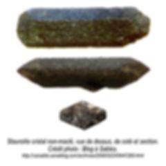 cristal_de_staurolite_non-maclé,_3_vues.