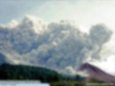 Nuée ardente du Merapi, Java