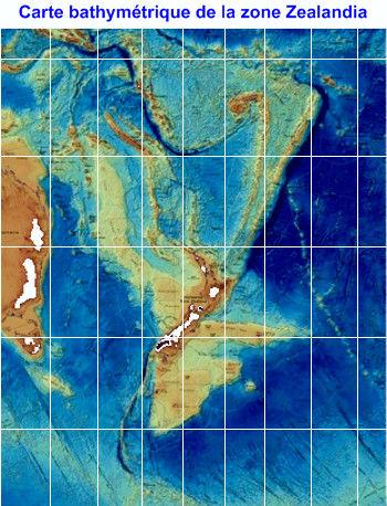 Carte bathymetrique Zealandia.