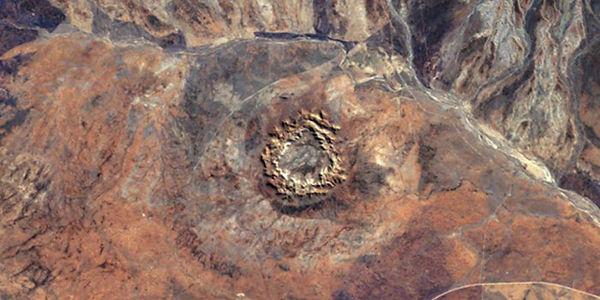 Le cratère de Woodleigh