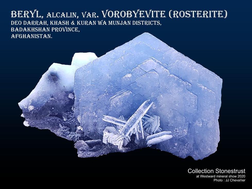 Vorobyevite (Rosterite).