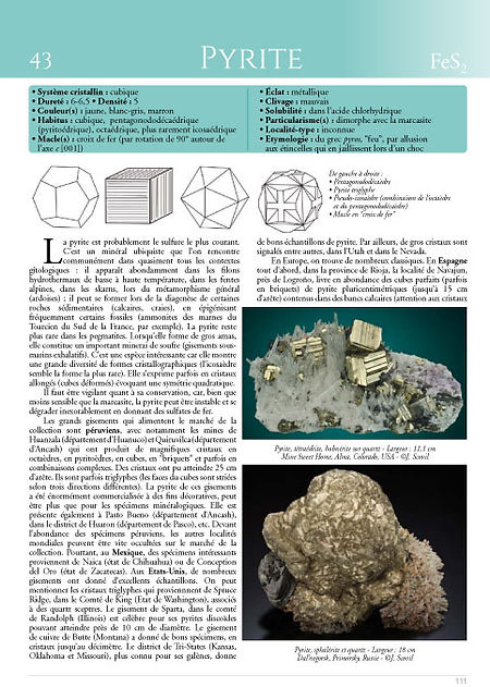une page pyrite