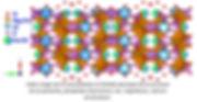 Reconstitution à l'échelle atomique de la strucure de a Lasnierite