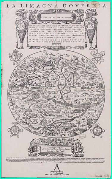 Carte, La Limagna d'Overnia, de Gabriello Siméoni