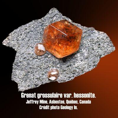 Grenat Grossulaire, Hessonite.