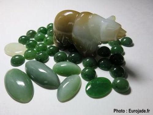 Jade néphrite sibérien.