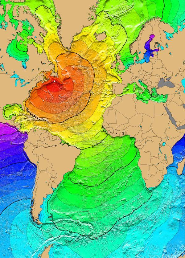 Tsunami de Grand Bank 18 novembre 1929.j