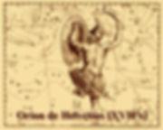 Orion de Helvetius XVII siècle
