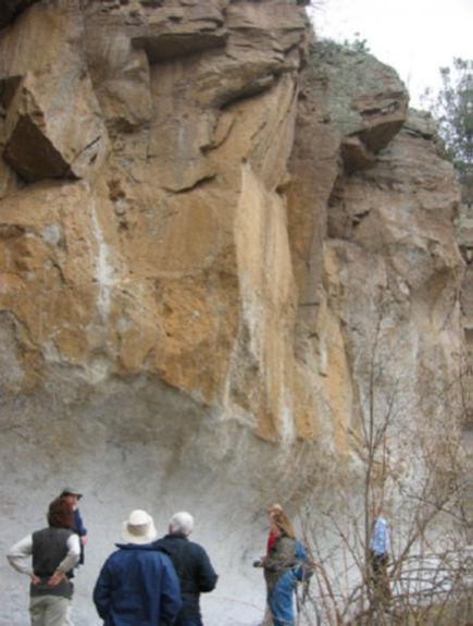 Depot de cendres et tuff soudé  - Chiricahua.