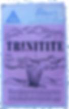 Etiquette de marchand de trinitite.