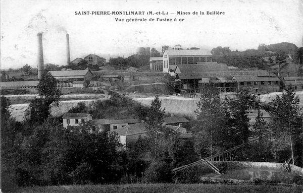 Mine d'or Saint-Pierre Montlimart