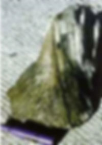 Shattercone ou cône d'impact