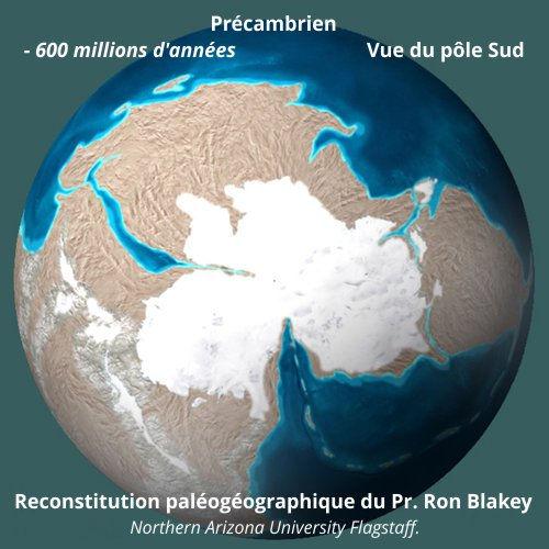 Exemple de reconstitution pléogéographique
