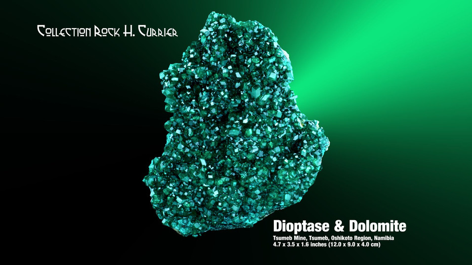 Dioptase & Dolomite Coll RHC.jpg
