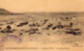Carte postale du camp de la  Légion Etrangère à Tataouine vers 1916.