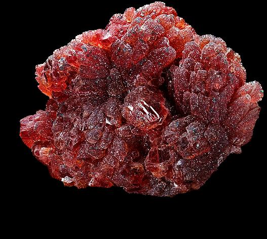 Rhodochrosite N'Chwaning, Afrique du Sud.