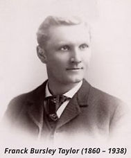 Frank Bursley Taylor, portrait.