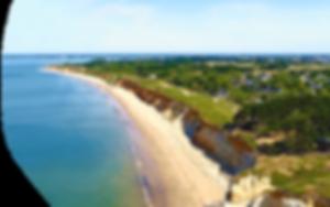 La plage de la mine d'or, Pénestin.