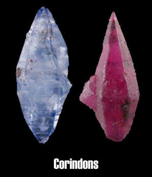 Corindons,saphir et rubis