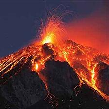 Eruption de volcan hawaïen