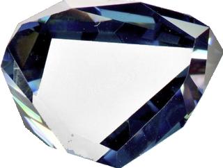 Copie du diamant bleu de JB Tavernier 1668.