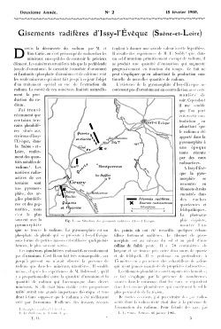 Radium , PdF gisement Issy leveque.
