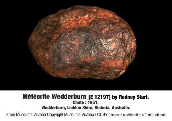 Meteorite Wedderburn.