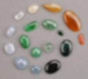 Différentes couleurs de jadéite.