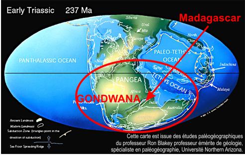 Madagascar au Trias