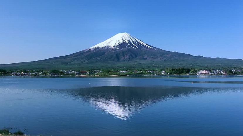 Stratovolcan : Fuji-Yama, Japon.
