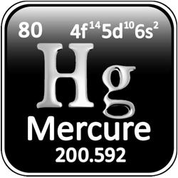 Hg-mercure.