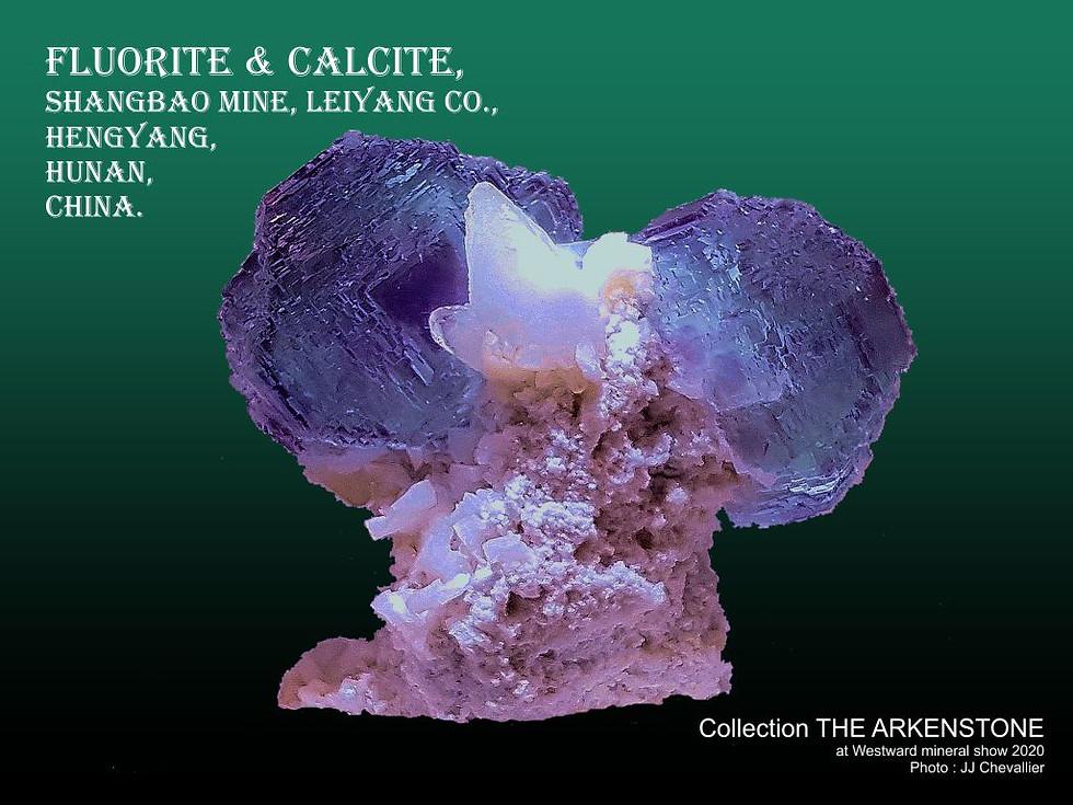 Fluorite & Calcite.