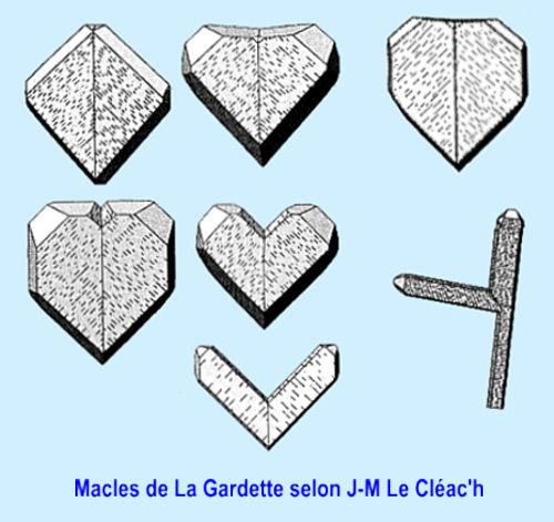 Les macles de Lagardette selon JM Le Cleac'h.