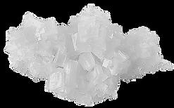 Cristaux de sel gemme
