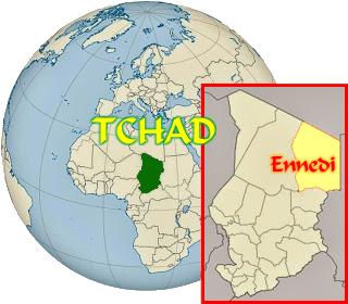 Localisatio de l'Ennedi