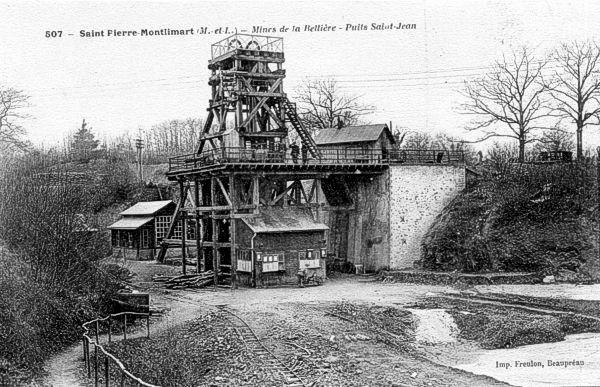 Mine d'or St Pierre Montlimart, Maine et Loire