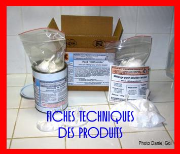 Fiches techniques des produits D. Gol