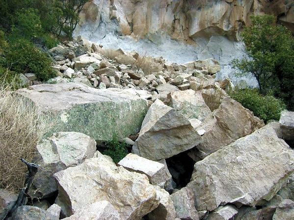 Effondrement - Chiricahua.