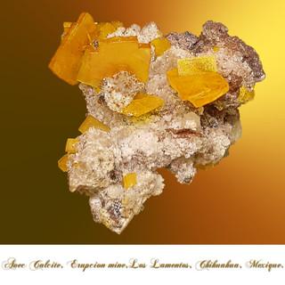 Erupcion mine, Los lamentos, Chihuahua, Mexique.