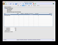 Materialwesen Dateneingabe