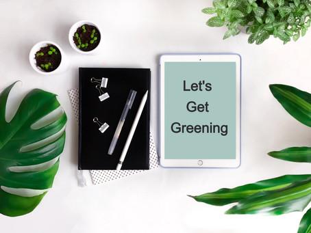 7 Ways To Start Greening