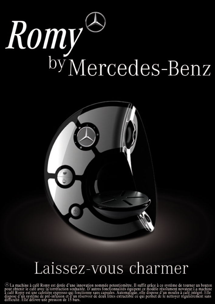 MERCEDES COFFEE MACHINE