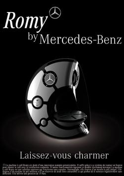 MERCEDES COFFEE MACHINE