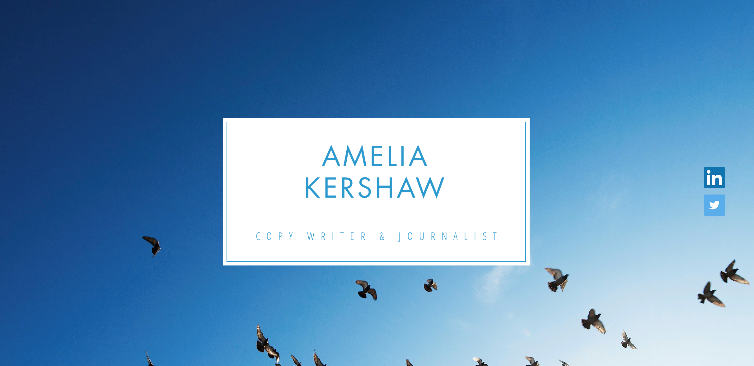 Amelia Kershaw Website