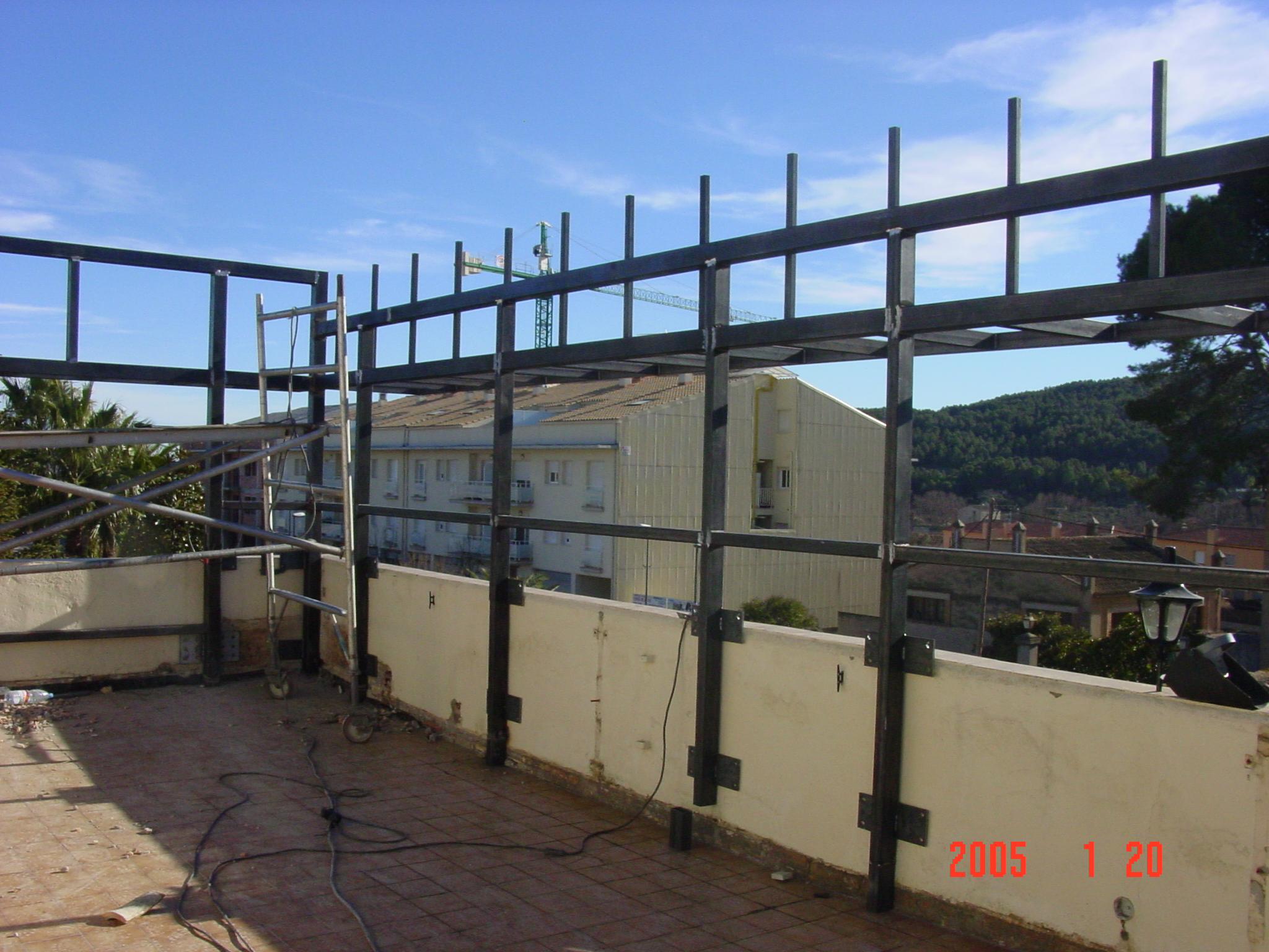 Ampliación vivienda en St Marti Sarr