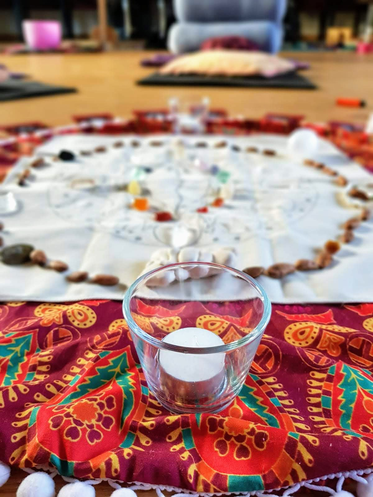 Womb Mandala created by Maggie Rose, Artist and Healer